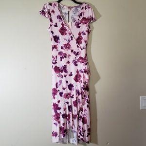 Juicy Couture Floral Wrap Dress